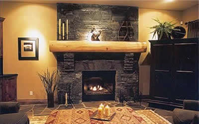 Beautiful stone fireplace best wallpapers - Beautiful stone fireplaces that rock ...