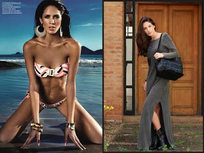 Modelo brasileira inicia carreira internacional e é representada pela MEGA MIAMI