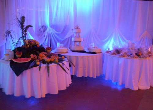 Decoracion de bodas con telas parte 1 for Ornamentacion para 15