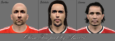 PES 2015 Classic Facepack by Amir27