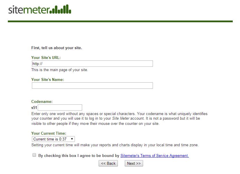 Mengetahui Traffict Jumlah Pengunjung Blog/ Website Dengan Sitemeter 4