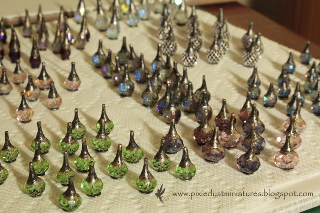 Pixie Dust Miniatures: My Workspace - making Potions