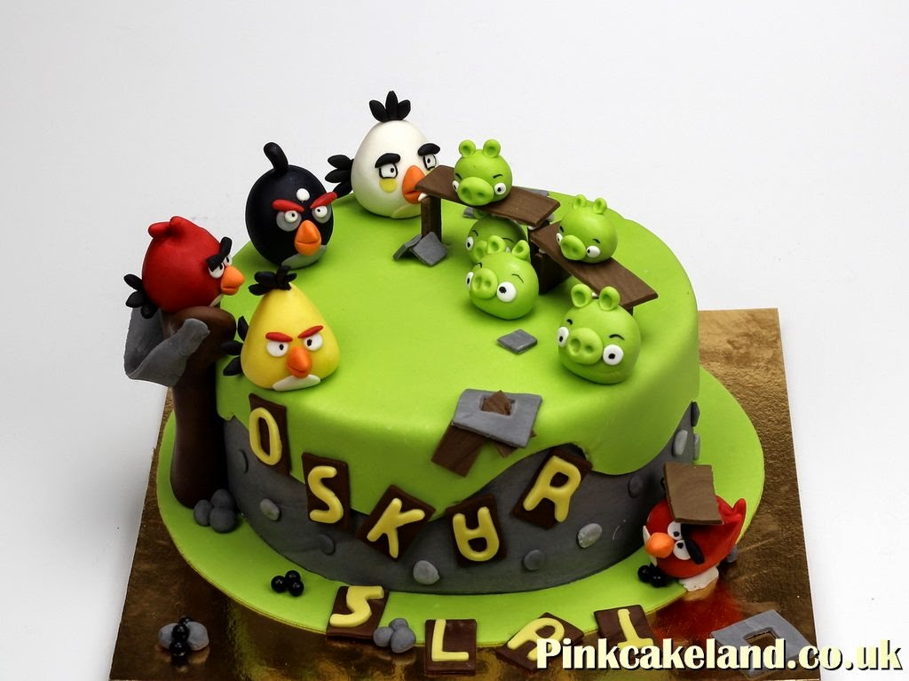 Angry Birds Kids Birthday Cakes in London