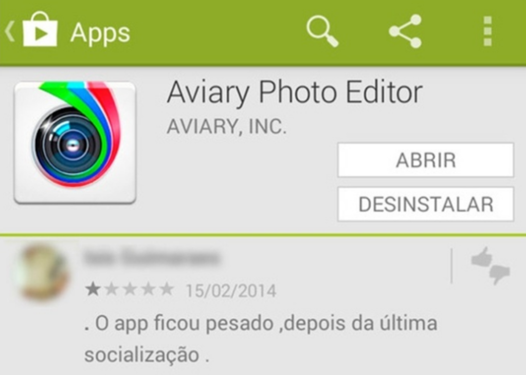 Aviary - editor de fotos