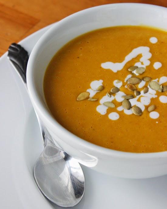 Pumpkin-Coconut Bisque #Recipe