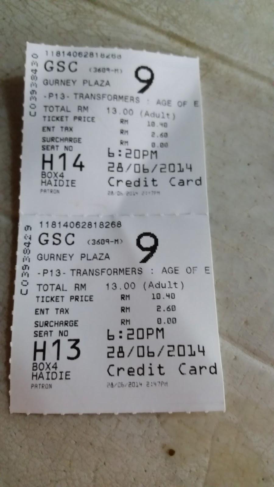 our journey penang gurney plaza gsc cinema