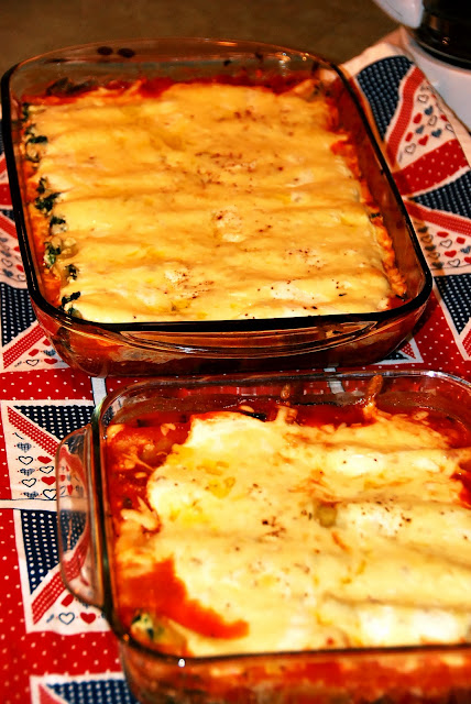Jamie Oliver's Awesome Spinach And Ricotta Cannelloni
