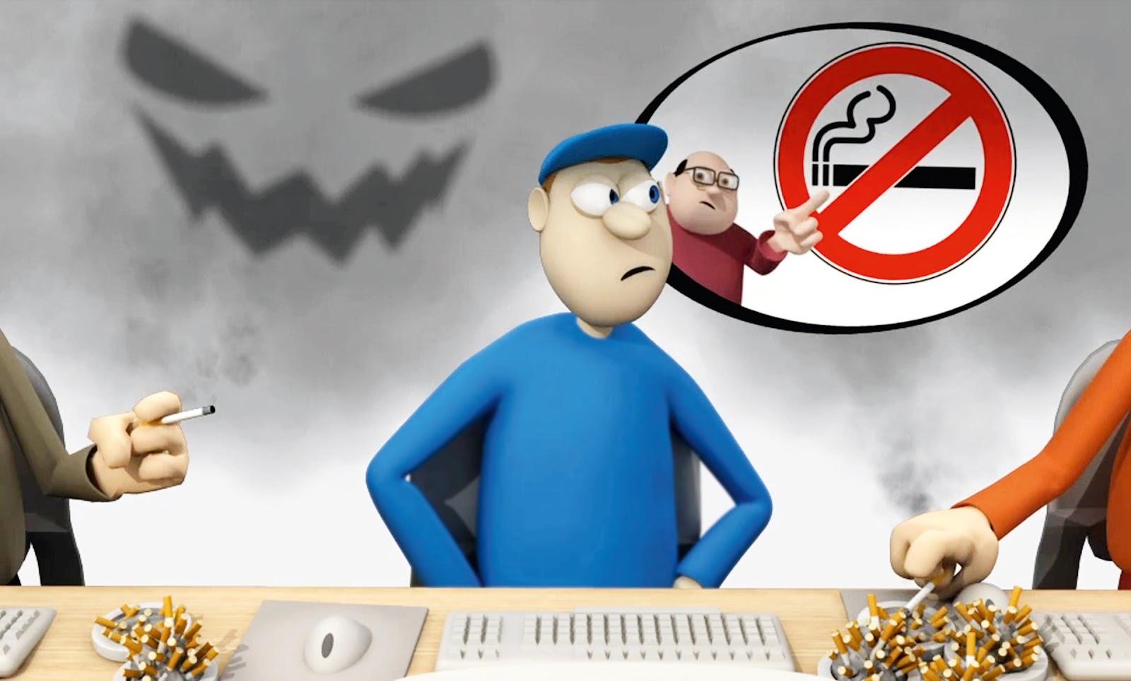 El humo de tabaco ambiental en los lugares de trabajo de toda europa