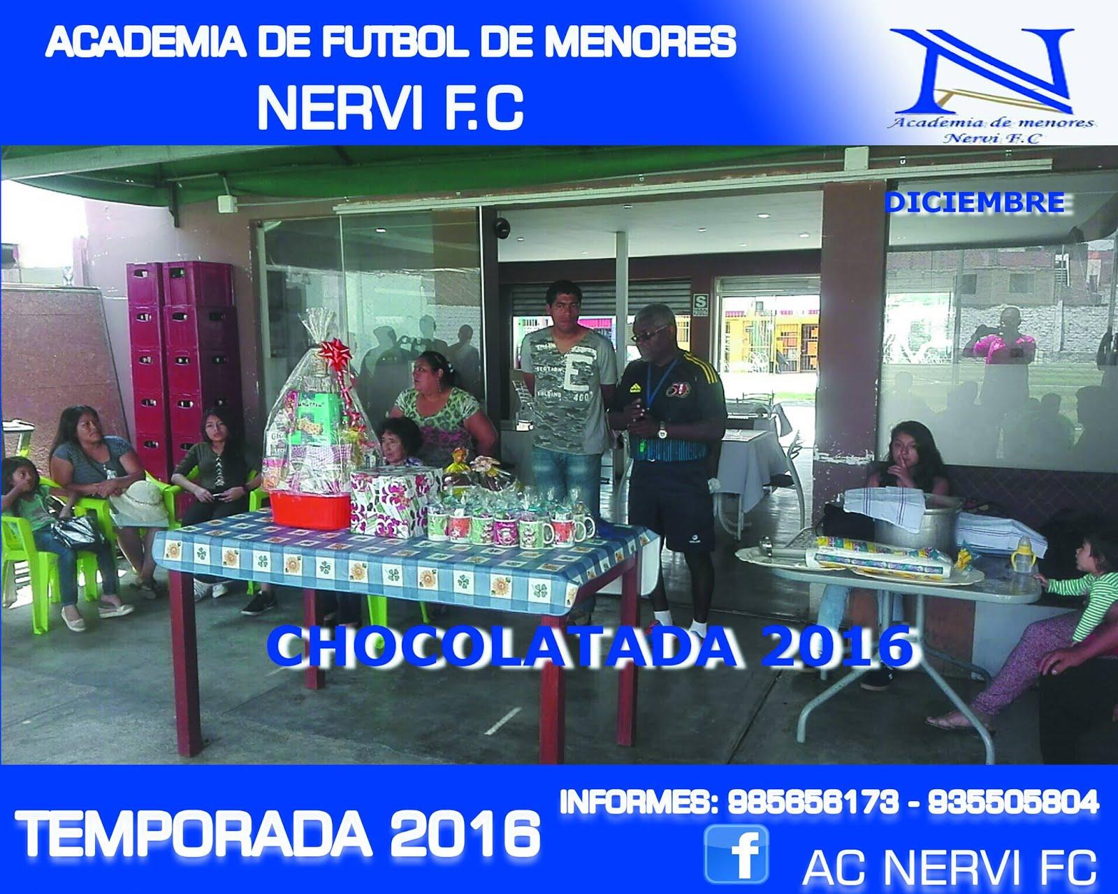 CHOCOLATADA 2016