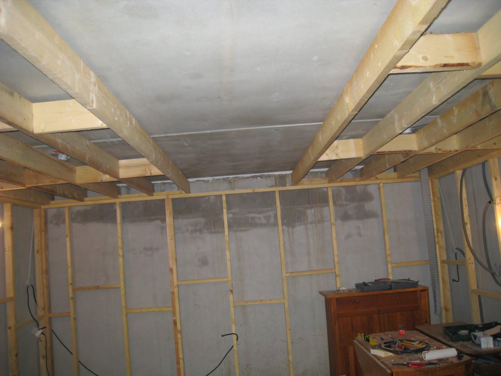 The waff 39 s blog salle de musique le plafond la suite for Faire un double plafond
