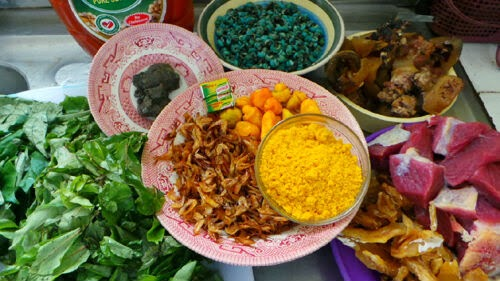 Image result for ingredients for oha soup