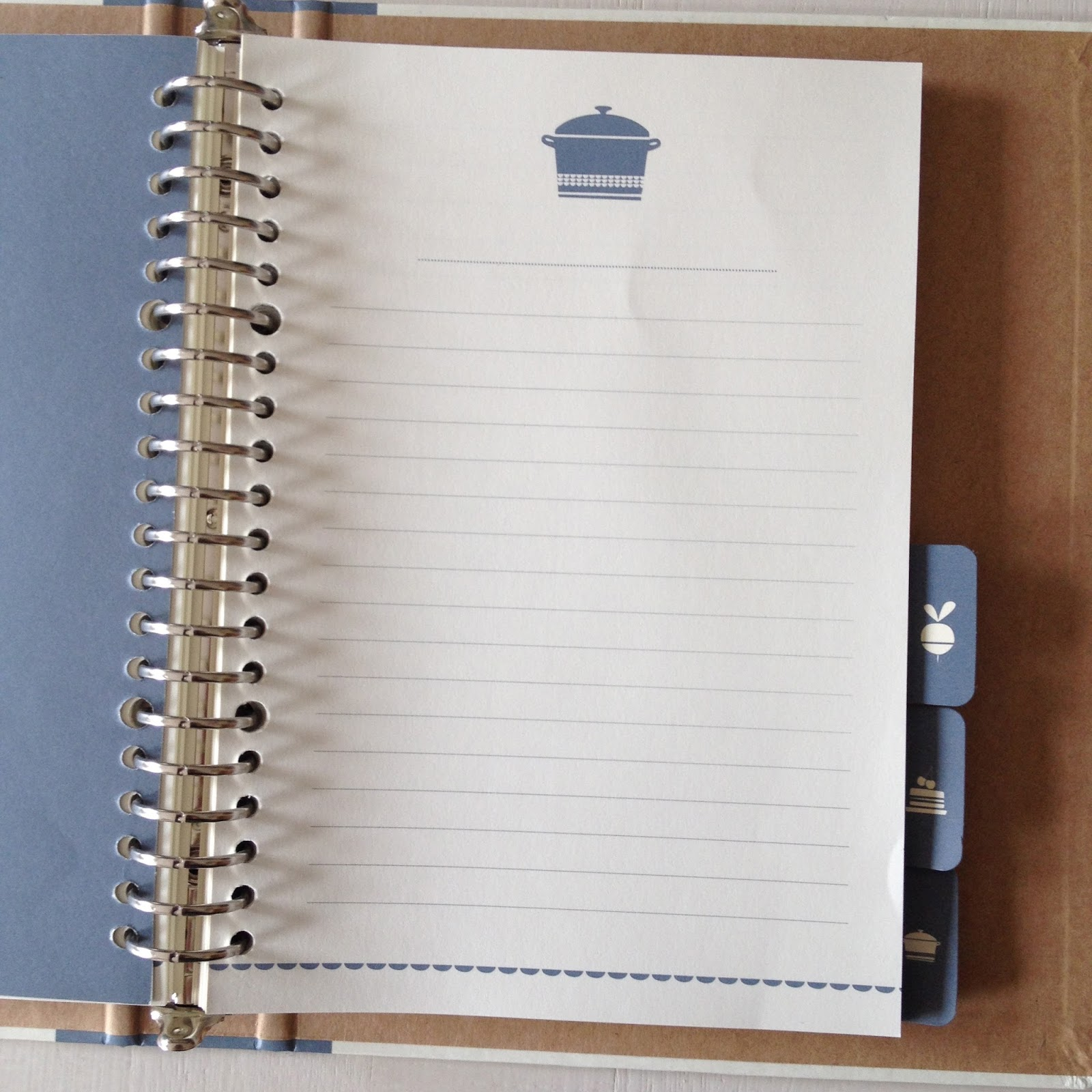 Papier Pen Receptenboek Dille En Kamille