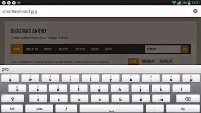 Smartkeyboard, Aplikasi Android Terbaik