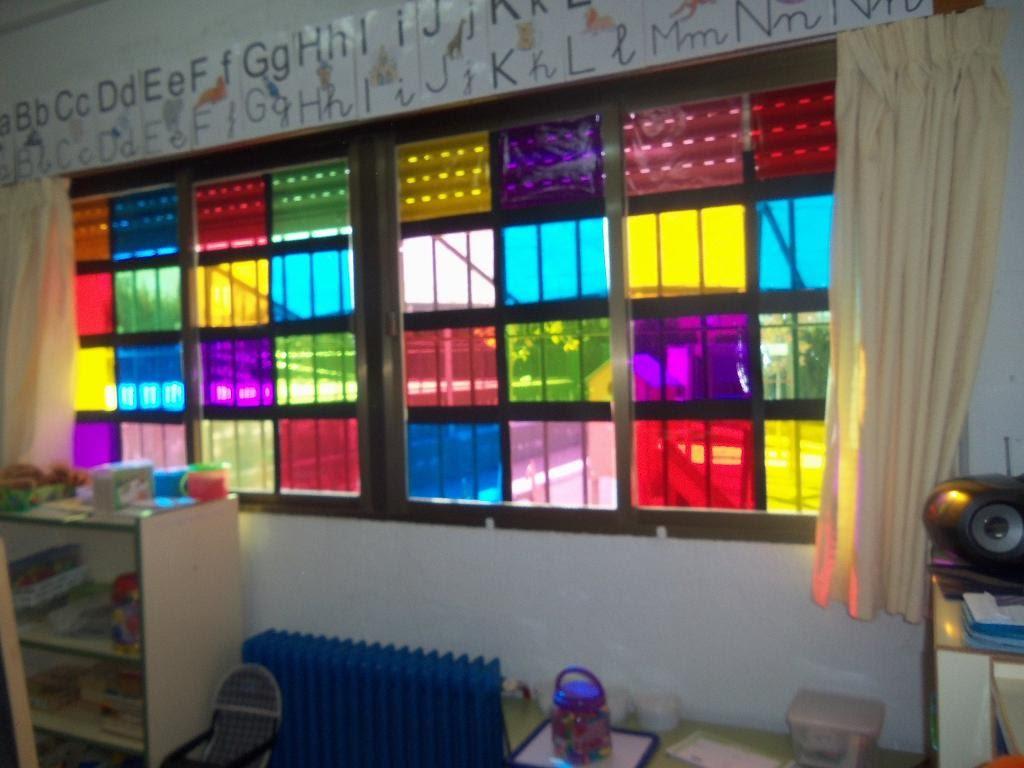 Proyectos infantil nuestro castillo - Como hacer una vidriera ...