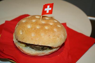 ricetta hamburger svizzero