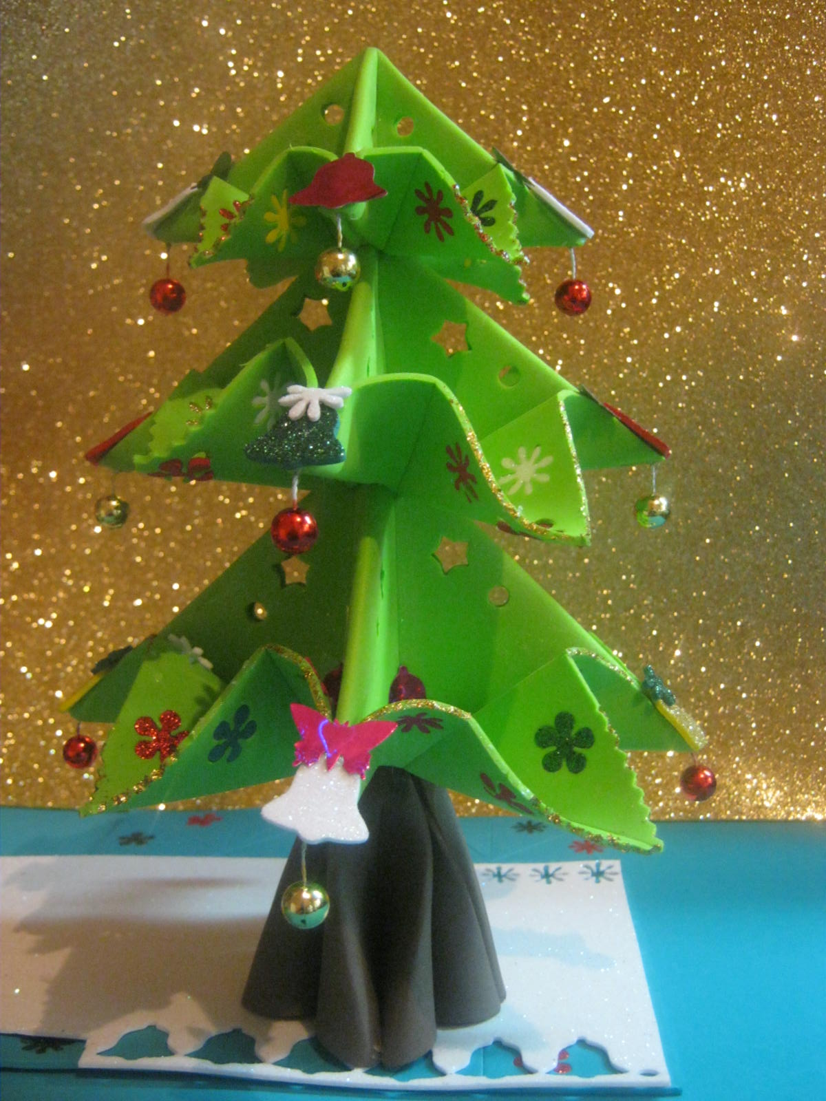 Zona purpura christmas tree arbolito de navidad arbol for Menu navideno facil de hacer