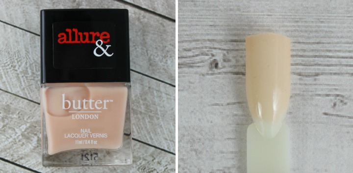 Allure & Butter London Arm Candy Nail Lacquer Collection review swatches NUDE STILETTOS