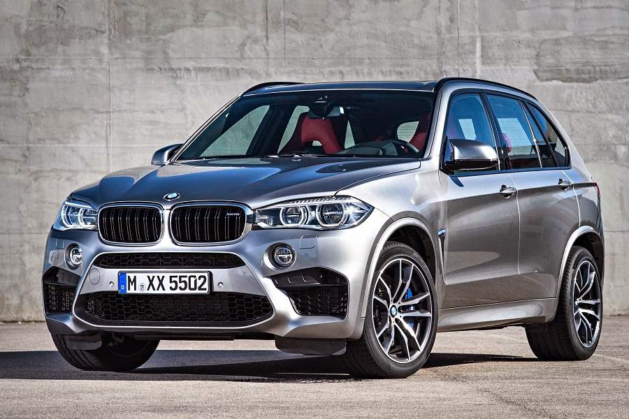 BMW X5 M (2015) Front Side