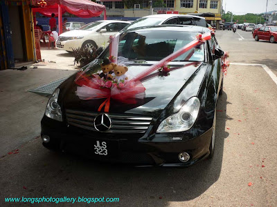 Mercedes CLS Wedding Car