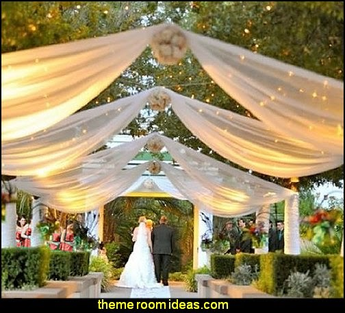 Country Garden Rustic Theme Wedding Decorating Ideas