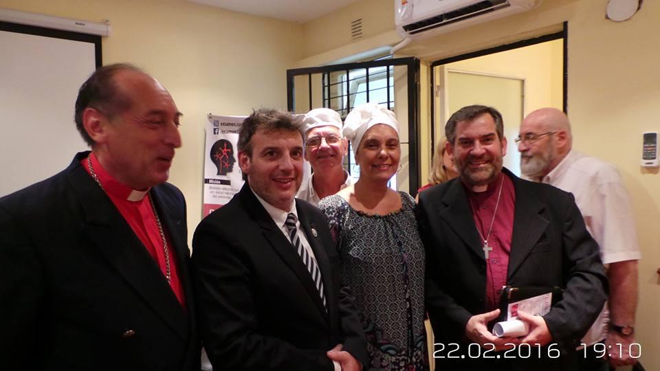 +Arzobispo Urqhuhart de Barros Juan Carlos  +Obispo Nestor F. Terragni Peralta, Iglesia Episcopal A