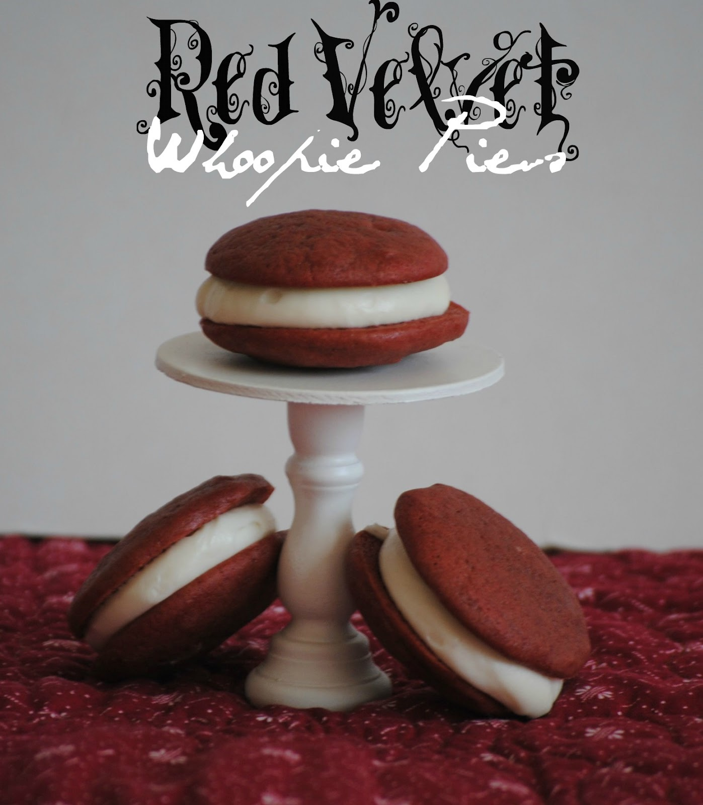 The Farm Girl Recipes: Red Velvet Whoopie Pies