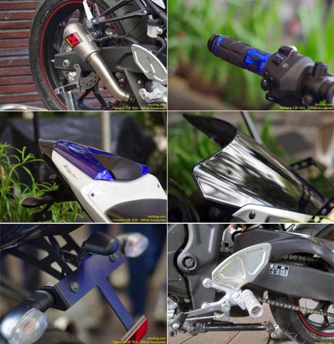 Knalpot Racing Yamaha R25