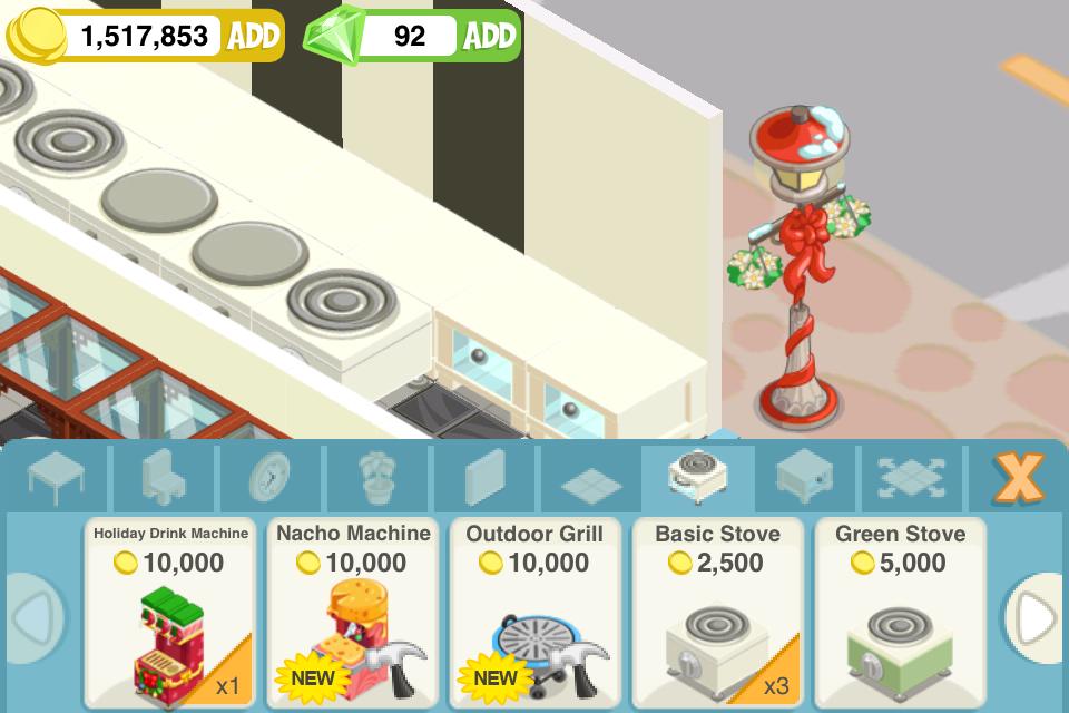 nacho machine restaurant story