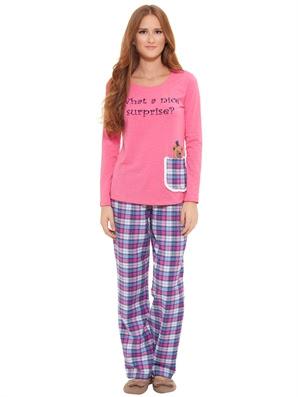 lc waikiki yeni pijamalar-6