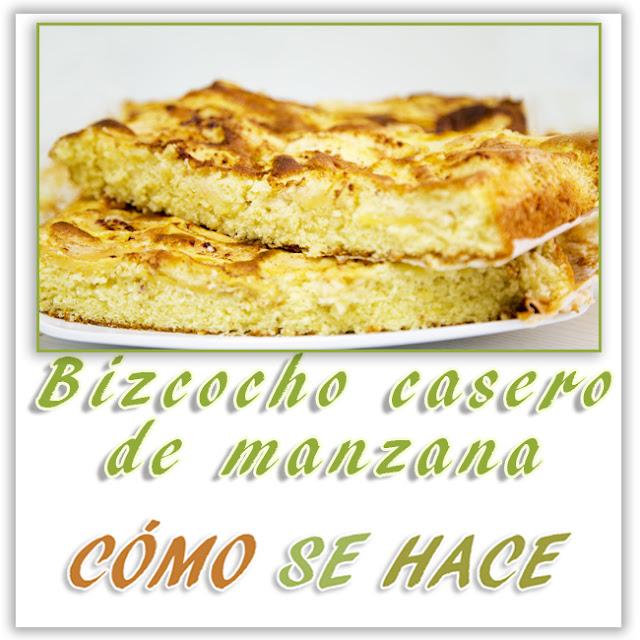 BIZCOCHO CASERO...