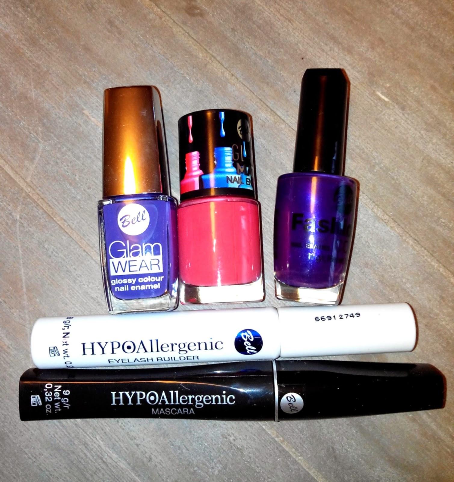 mascara,vernis, manucure, violet, rouge, bell, kosméopolis, bullelodie