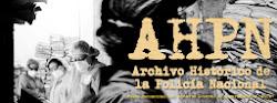 Enlace a Archivo Digital del Archivo Histórico de la Policía Nacional, AHPN