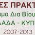 Καλές πρακτικές του προγράμματος Δια Βίου Μάθηση 2007-2013