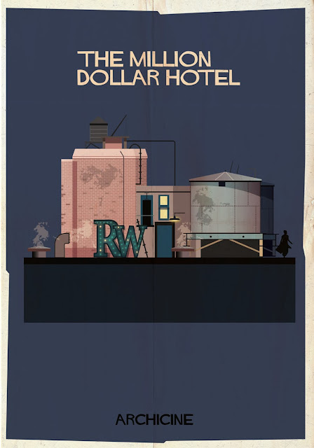 {Art} Architecture in film: Archicine by Frederico Babina | Rue du chat qui peche | The million dollar hotel