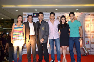 Star casts of  'Student Of The Year' at R City Mall for promotion