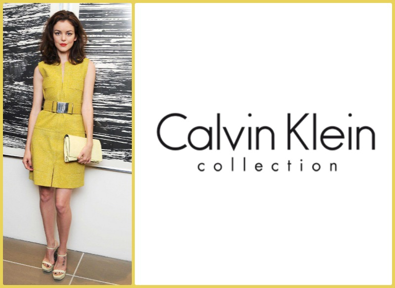 Calvin Klein collection new york y Hanneli Mustaparta