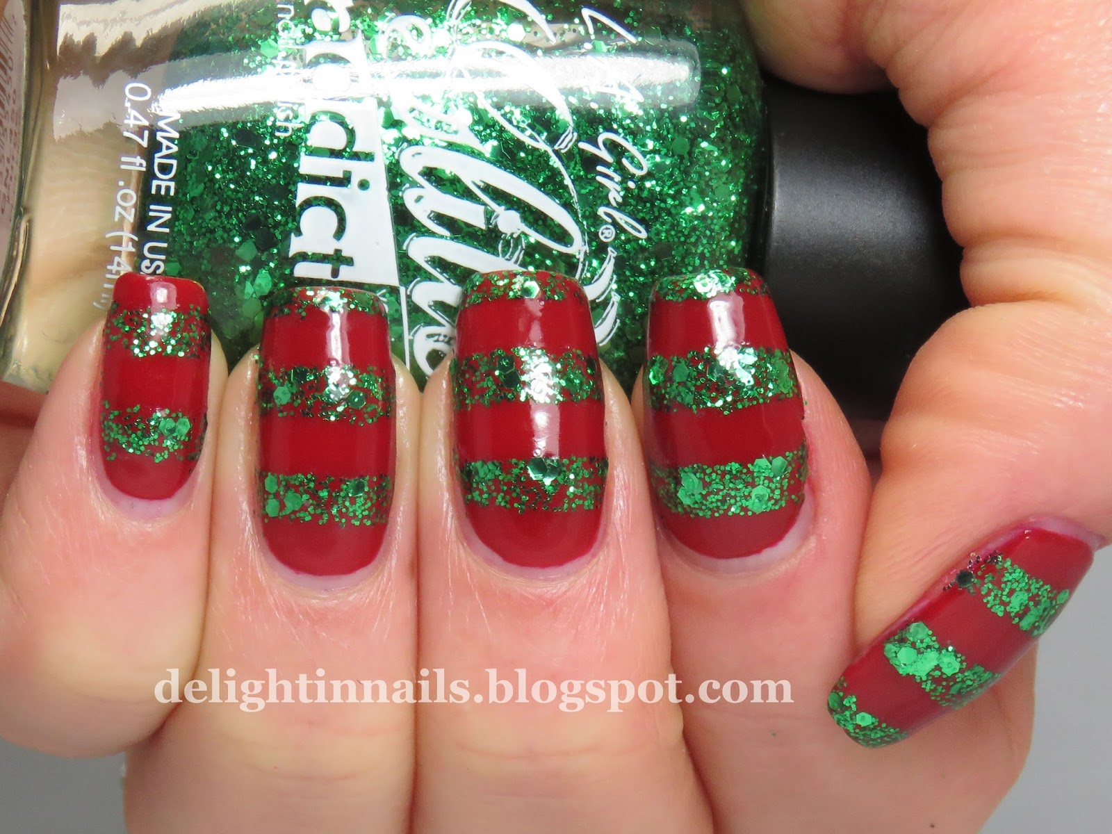 Delight In Nails 40 Great Nail Art Ideas Glitter Topper Or Flakie