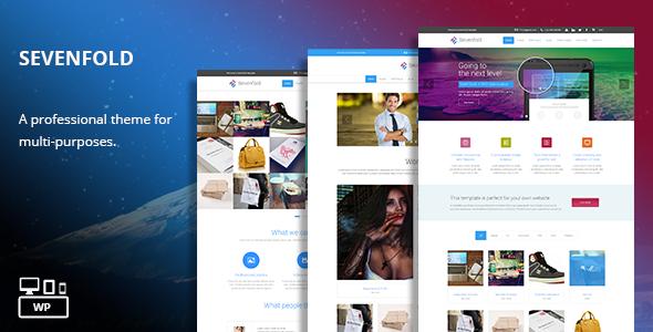 Sevenfold V1.2 – Multi-Purpose WordPress Theme