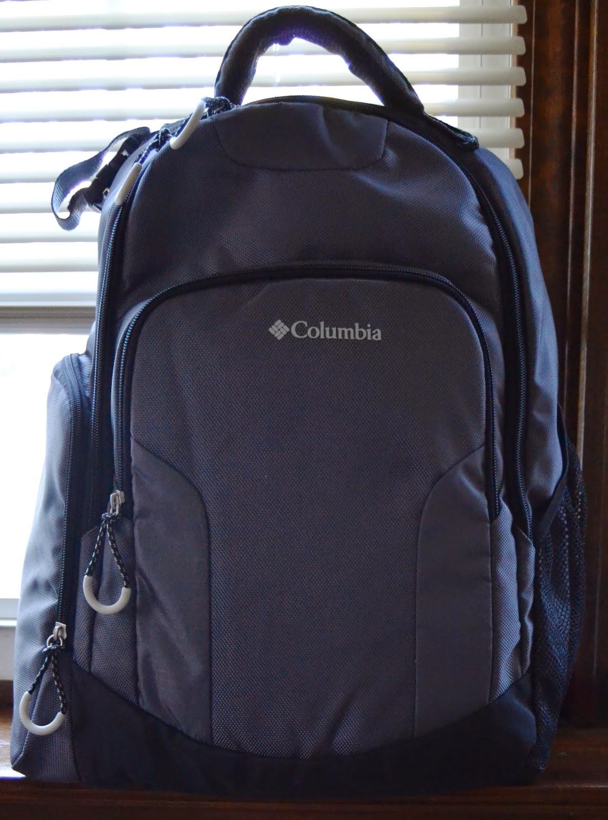 Columbia Backpack Diaper Bag