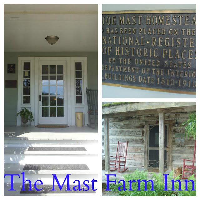 Mast Farm Inn in Valle Crucis, N.C.
