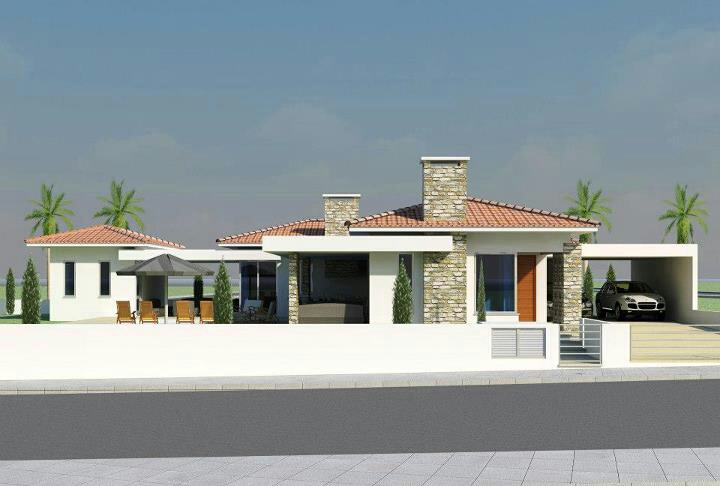 Modern mediterranean homes exterior designs ideas latest for Modern exterior design ideas