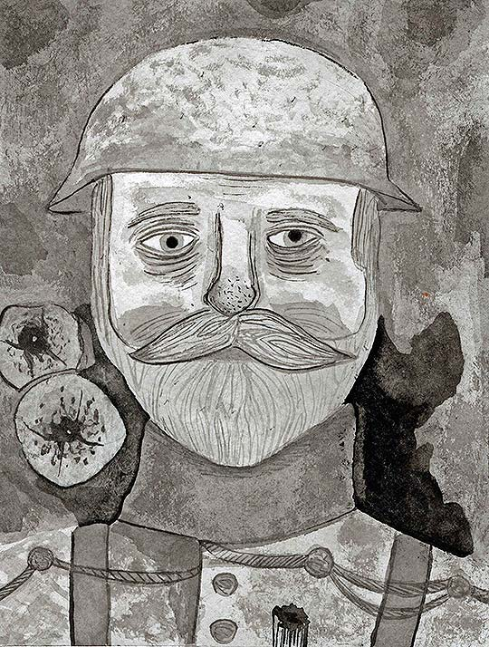 Ilustración de Esteban Isaza aka Marécages