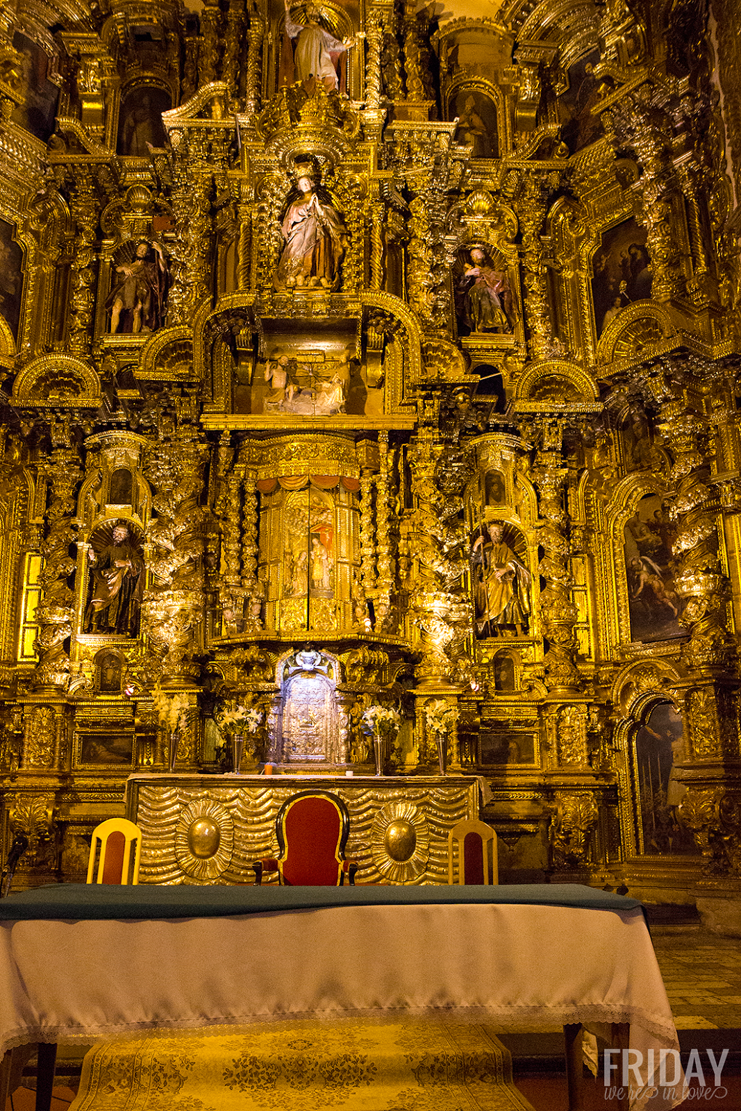 Cathedral of Santo Domingo Interior