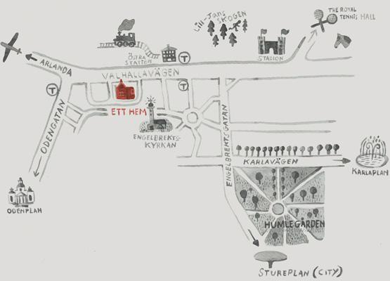casa hotel, mapa