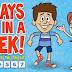 Lagu Bahasa Inggris untuk Anak: Days of the Week