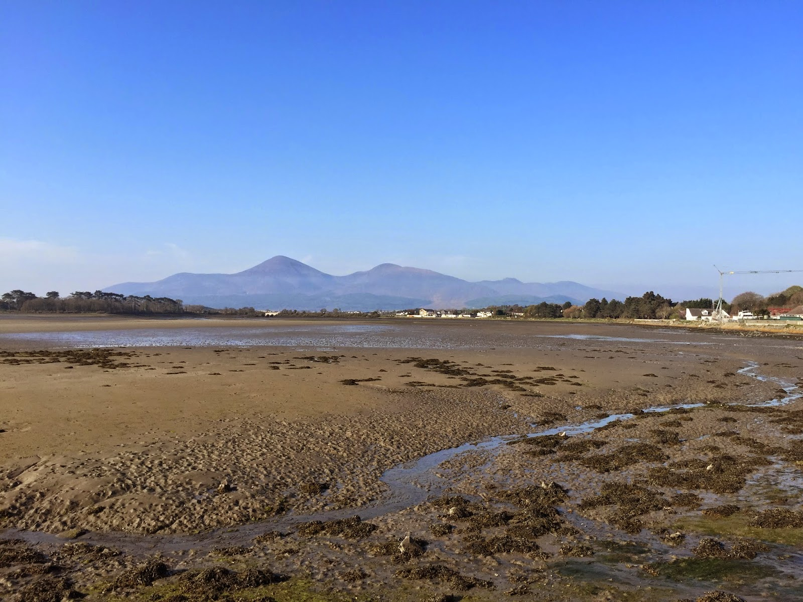 Mourne Mountains from Dundrum Bay