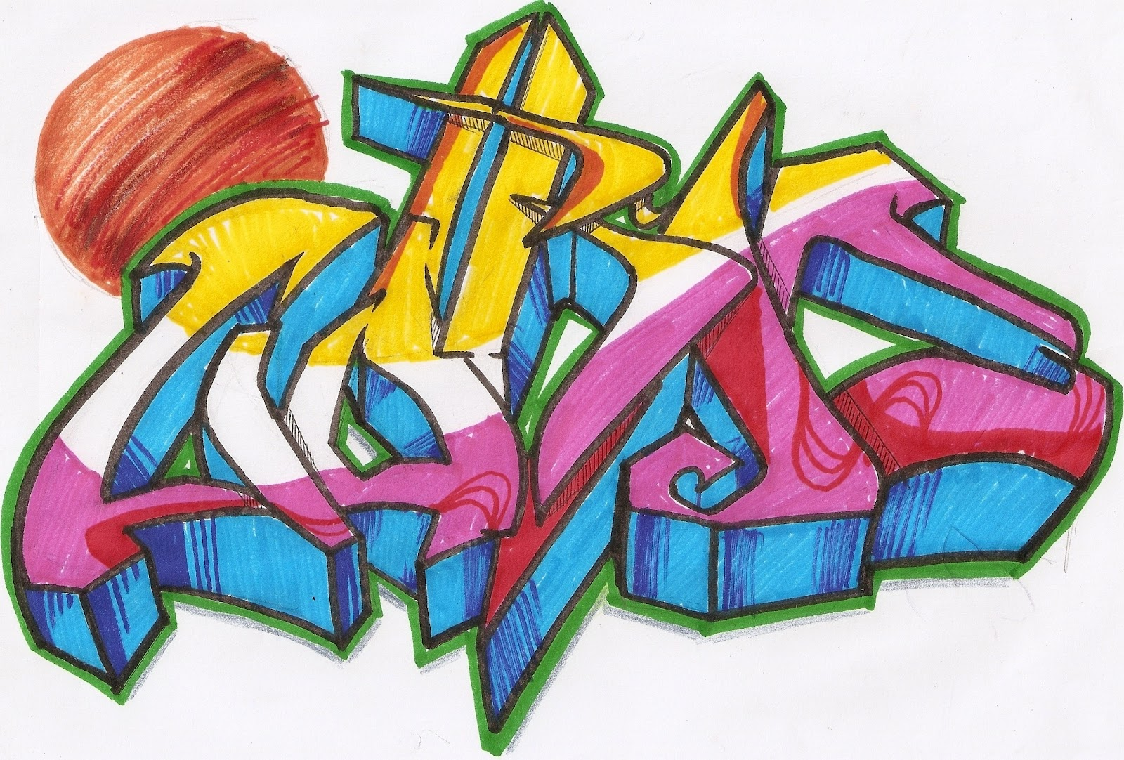Curso de Desenho On line - com Gene do Grafite: Curso Graffiti on line ...