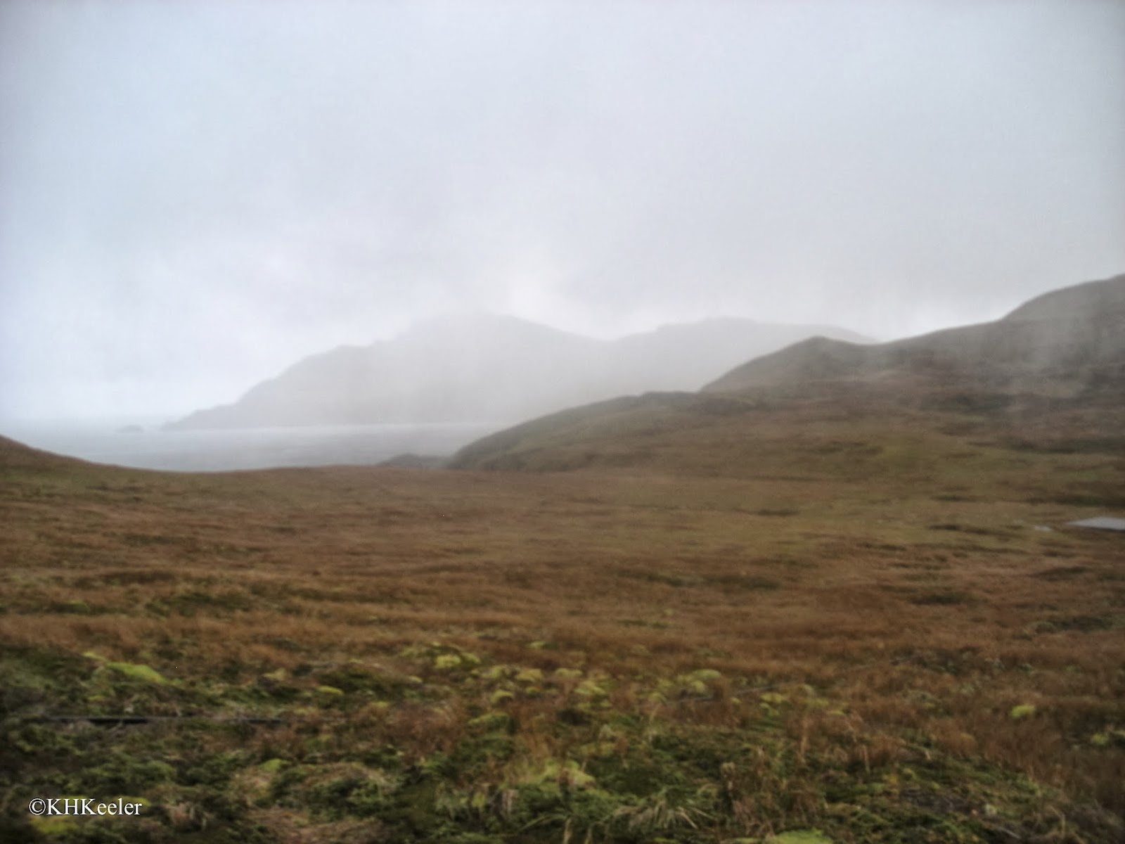 cold rain on Cape Horn