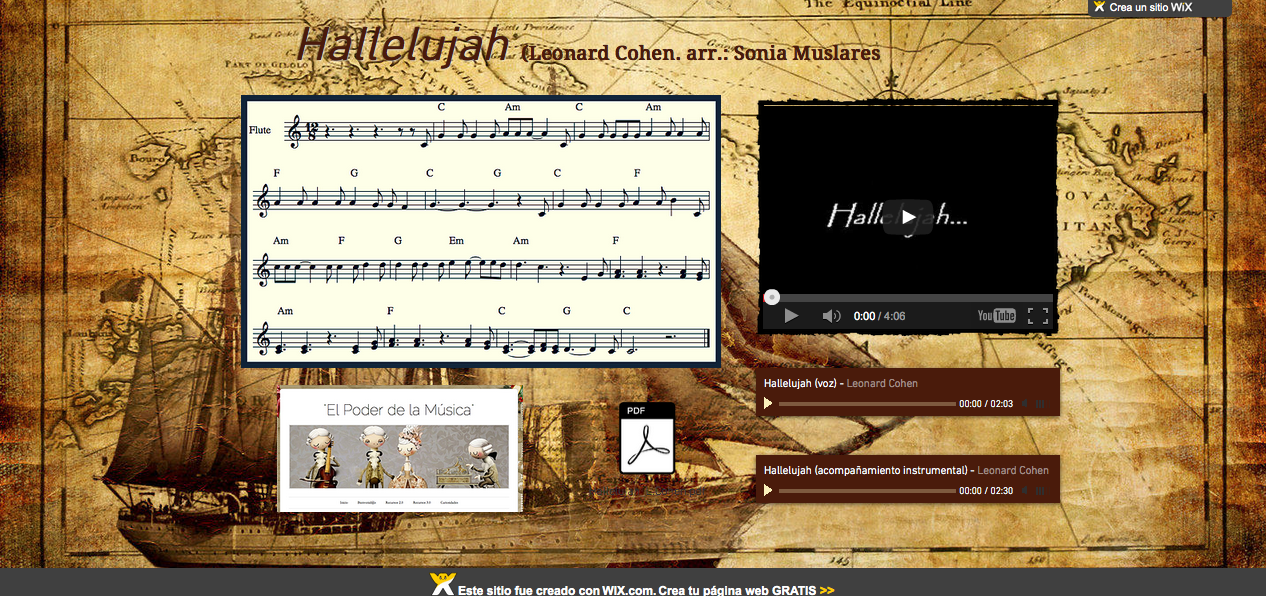 http://caracolparlanchin.wix.com/hallelujah
