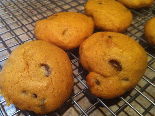 Pumpkin Chocolate Chip Cookies by Kims Kandy Kreations.